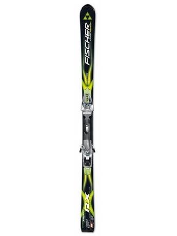 Горные лыжи Fischer RX Cool Heat + крепления FX12 RAILFLEX 2 07/08