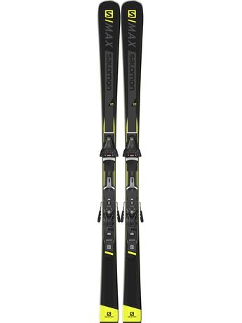 Горные лыжи Salomon S/Max 10 + крепления Z 12 Walk 18/19