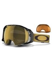Маска Oakley Airbrake Shaun White Sign. Gold Future Primitive / 24K Iridium + Persimmon