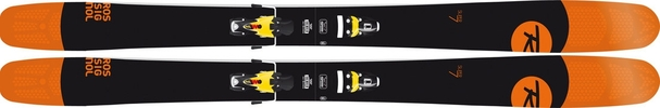 Горные лыжи Rossignol Super 7 + Axial3 120 (14/15)