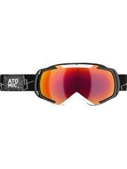 Маска Atomic Revel 3 M Black-White / Red Lens + Orange Lens