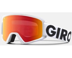 Маска Giro Semi White Futura / Amber Scarlet + Yellow