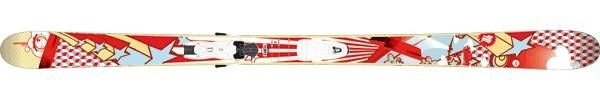 Горные лыжи Rossignol Scratch Bling + крепления AXIUM SCRATCH 110 (07/08)