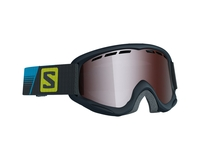 Маска Salomon Juke Racing Black / Tonic Orange Mirror Silver