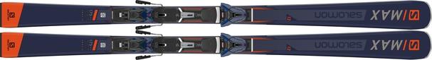 Горные лыжи Salomon S/Max 12 + крепления Z 12 Walk (18/19)
