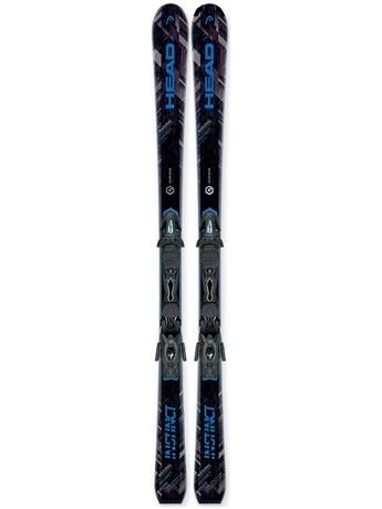 Горные лыжи Head Natural Instinct + крепления PR 12 16/17