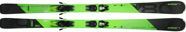 Горные лыжи Elan Amphibio 80 TI PS + крепления ELX 11.0 (18/19)