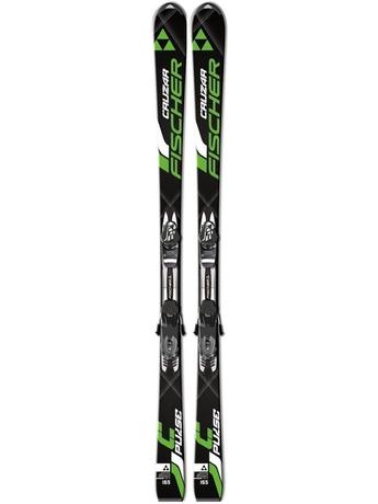 Горные лыжи Fischer Cruzar Pulse + крепления RS 10 16/17