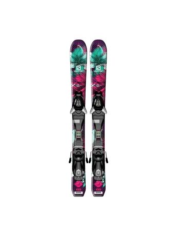 Горные лыжи Salomon Q-Lux Jr XS + крепления EZY5 14/15