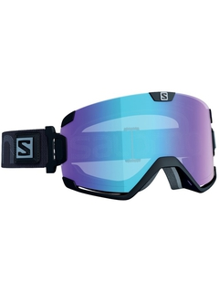 Маска Salomon Cosmic Photo Black / Blue Photochromic LTS
