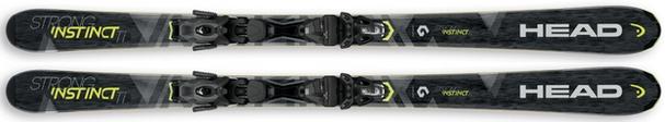 Горные лыжи Head Strong Instinct Ti + крепления PRD 12 (17/18)