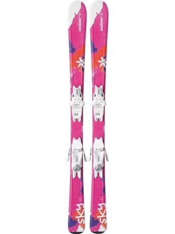Горные лыжи Elan Sky QS + крепления EL 4.5 (110-120) 16/17