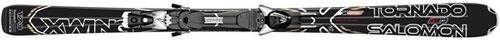 Горные лыжи Salomon XW Tornado Ti Pl + крепление z12 (10/11)