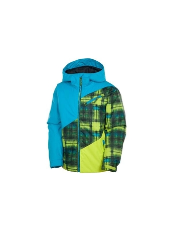 Детская куртка Rossignol Boy Twist JKT Trashed Checks Clover
