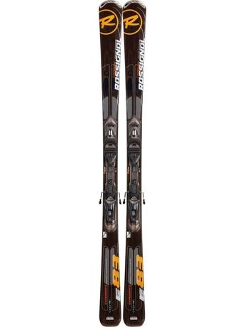 Горные лыжи с креплениями Rossignol Experience 83 TPX + AXM 120 L TPI Dk Grey Brush 12/13