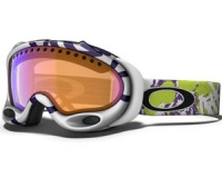 Маска Oakley A-Frame Sprayed Mint Purple / VR28