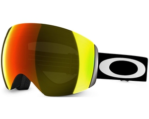 Маска Oakley Flight Deck Matte Black / Fire Iridium