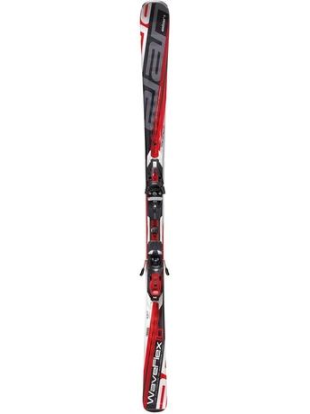 Горные лыжи Elan Waveflex 10 PST Red + крепление EL10.0 10/11