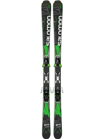 Горные лыжи Salomon X-Drive 8.0 FS + XT12 14/15