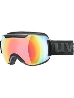 Маска Uvex Downhill 2000 FM Black Mat / Mirror Rainbow Rose
