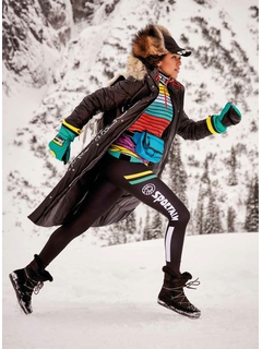 Пальто с мехом Sportalm Schnoggal