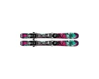 Горные лыжи Salomon Q-Lux Jr XS + крепления EZY5 (15/16)