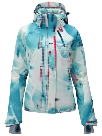 Куртка Salomon Brilliant Jacket W WhiteDarkBayBlue