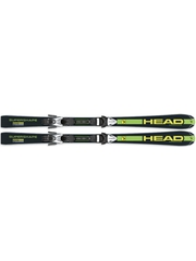 Горные лыжи Head Supershape LR + LRX 7.5 AC