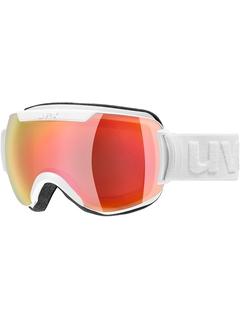 Маска Uvex Downhill 2000 FM White Mat / Mirror Red Lasergold Lite