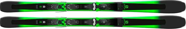 Горные лыжи Salomon XDR 78 ST + крепления Mercury 11 (18/19)