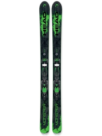 Горные лыжи Head Monster 108 + крепления Adrenalin 16 16/17
