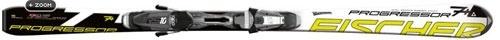 Горные лыжи Fischer Progressor 7+ Powerrail + крепления RS10 (10/11)