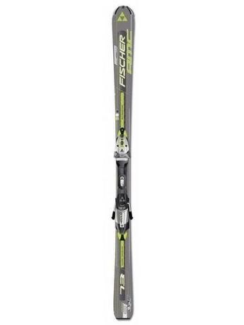 Горные лыжи Fischer AMC 73 + крепления FS10 RAILFLEX 2 07/08