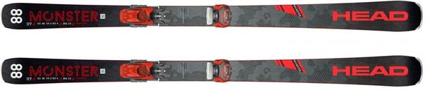 Горные лыжи Head Monster 88 Ti + крепления Attack2 13 (19/20)