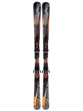 Горные лыжи с креплениями Elan E/Flex 6 Erise Orange QT + EL 10.0 11/12