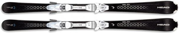 Горные лыжи Head Easy Joy + крепления LRX 9.0 (15/16)
