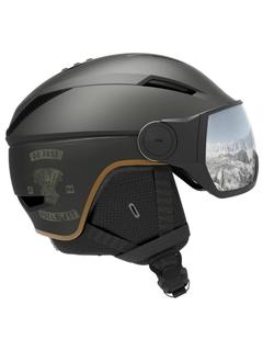 Горнолыжный шлем Salomon Pioneer Visor Cafe Racer