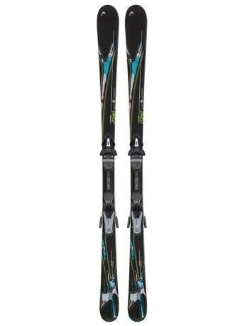 Горные лыжи с креплениями Head MYA No. 3 LR + MYA 9 LRX 12/13