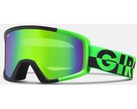 Маска Giro Blok Bright Green 50/50 /Loden Green (15/16)