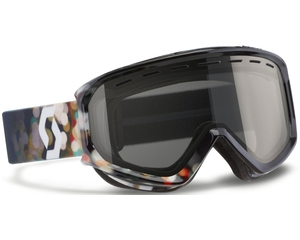 Маска Scott Level Blur Black / Black Chrome