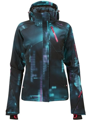 Куртка Salomon Brilliant Jacket W BlackDarkBayBlue