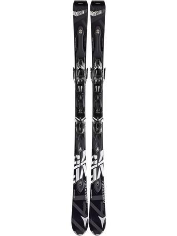 Горные лыжи с креплениями Atomic D2 VF 75 black + NEOX TL 12 12/13