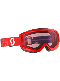 Детская маска Scott Agent Jr Red / Amplifier