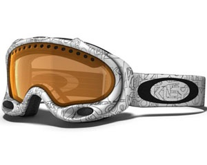 Маска Oakley A-Frame White Factory Text / Persimmon