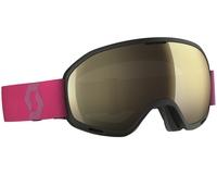 Маска Scott Unlimited II OTG Black/Berry Pink / Light Sensitive Bronze
