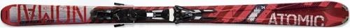 Горные лыжи Atomic Crimson Ti + крепления XTO 14 Sport 185 (10/11)