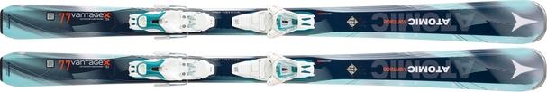 Горные лыжи Atomic Vantage X 77 C W + крепления Lithium 10 (16/17)