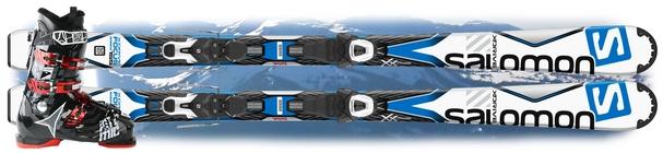 Горные лыжи Salomon X-Drive Focus + ботинки Hawx 1.0 80 Plus в подарок