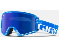 Маска Giro Semi Blue Rocksteady / Grey Cobalt + Yellow (15/16)