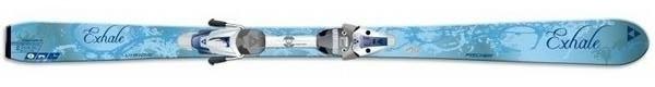 Горные лыжи Fischer Vision Exhale + крепления V9 RAILFLEX FW (07/08)